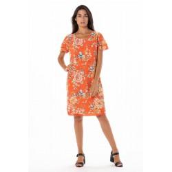 Vestido Primavera Naranja